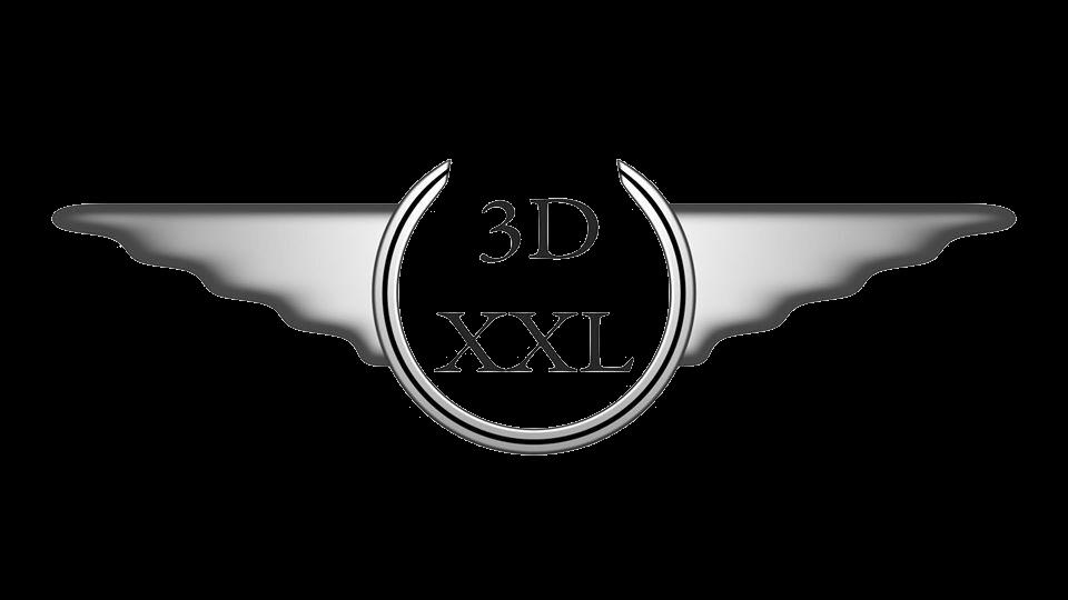 3DXXL – Von der 3D Visualiserung bis zum 3D Druck Logo